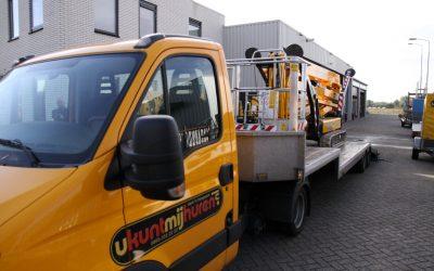 Uw hoogwerker gratis bezorgd in Gelderland en Utrecht